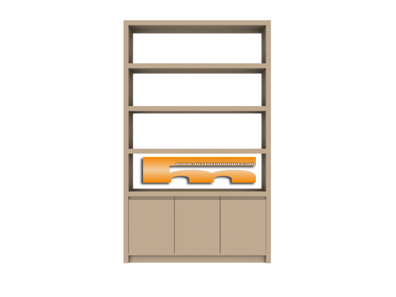 Casas cocinas mueble estanterias a medida online - Fabrica de puertas en madrid ...