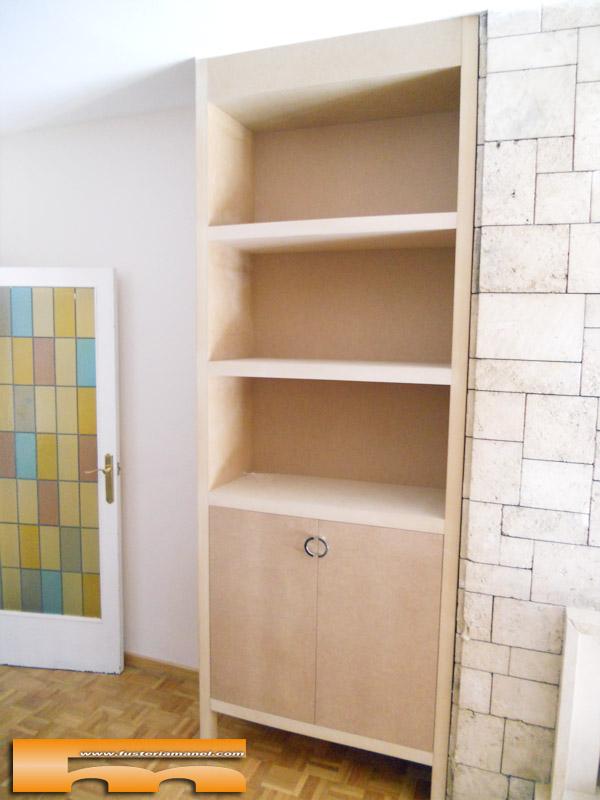 libreria-estanteria_a_medida_dm_salon_barcelona_josep 2 estantes