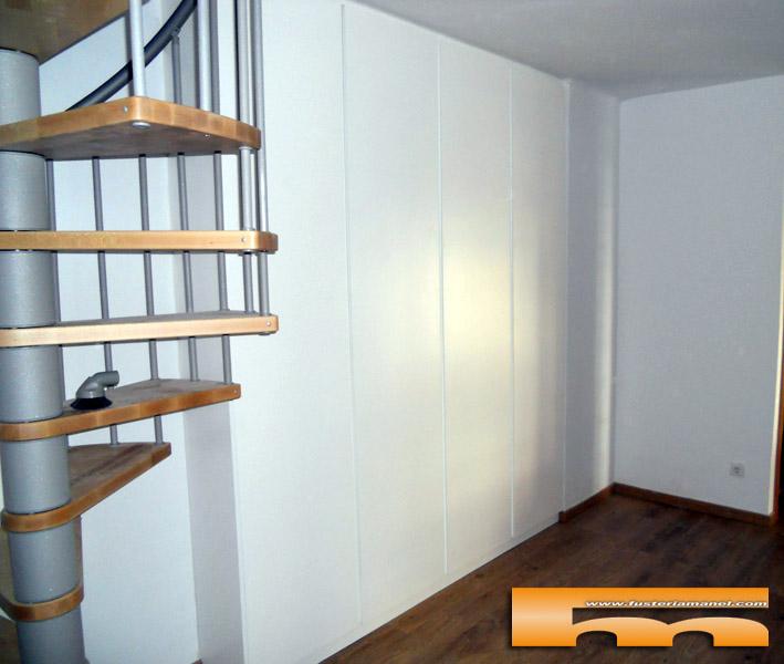armario lacado a medida diseño atemporal minimalista