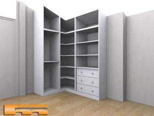 Dise o closets esquineros - Armario esquinero ikea ...