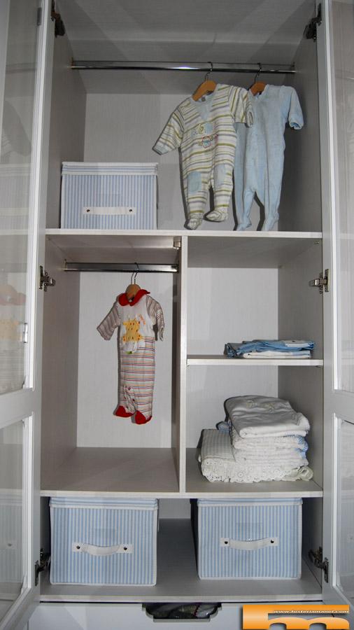 armarios infatiles a medida interior