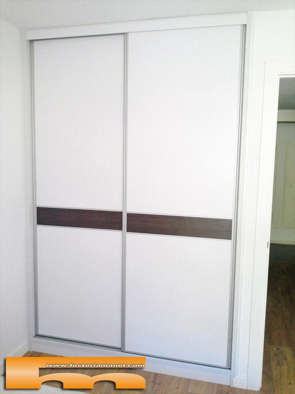 Armario a medida puertas correderas barcelona david - Armarios empotrados barcelona ...
