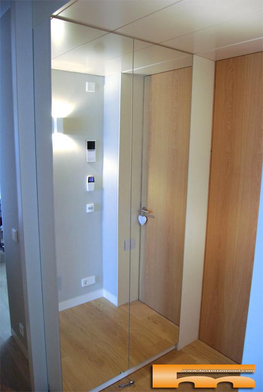 Armario recibidor zapatero espejo caldes laura - Espejos para pasillos ...