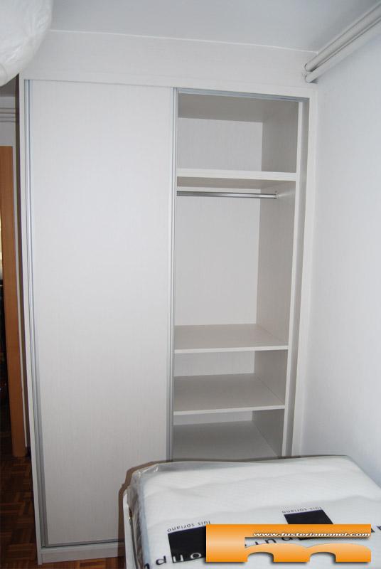 Habitaci n ni os con cama compacta armario escritorio - Medidas cama nino ...