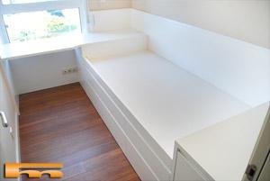 Literas camas realizadas habitaciones fichas for Medidas cama compacta