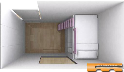 Decorar con armarios y muebles a medida for Armarios para habitaciones pequenas