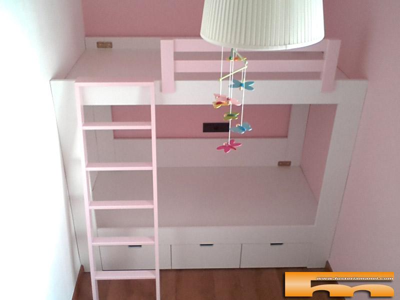 Litera 184cm ni as a medida sabadell judit - Literas para habitaciones pequenas ...