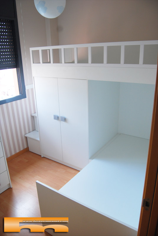 1000 images about habitaciones infantiles on pinterest - Escalera cama infantil ...
