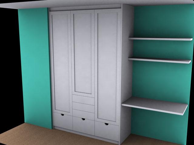 Diseo armarios empotrados excellent muebles juveniles - Disenar armarios empotrados ...