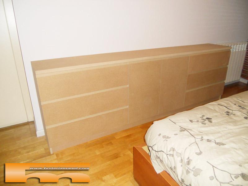 C moda grande a medida para pintar habitaci n de - Mueble a medida ...