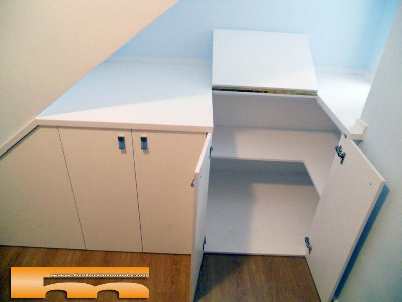 Mueble bajo escalera a medida sabadell josepa - Muebles a medida ...