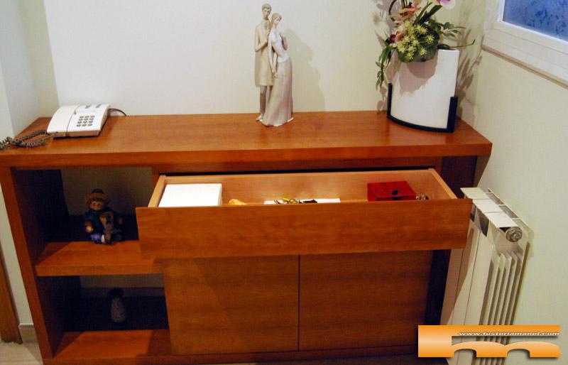 mueble recibidor a medida rubi rosalia