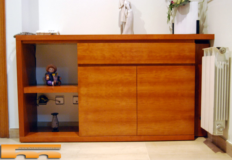 Mueble recibidor a medida rubi rosalia - Mueble a medida ...