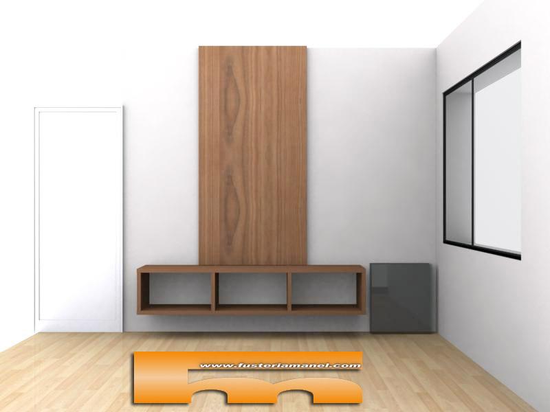 Medidas de un mueble para tv - Muebles de salon a medida ...
