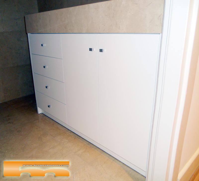 Mueble Baño a medida lacado  Barcelona  Laurent