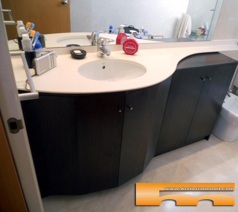 Medidas Baño De Servicio:Mueble baño a medida